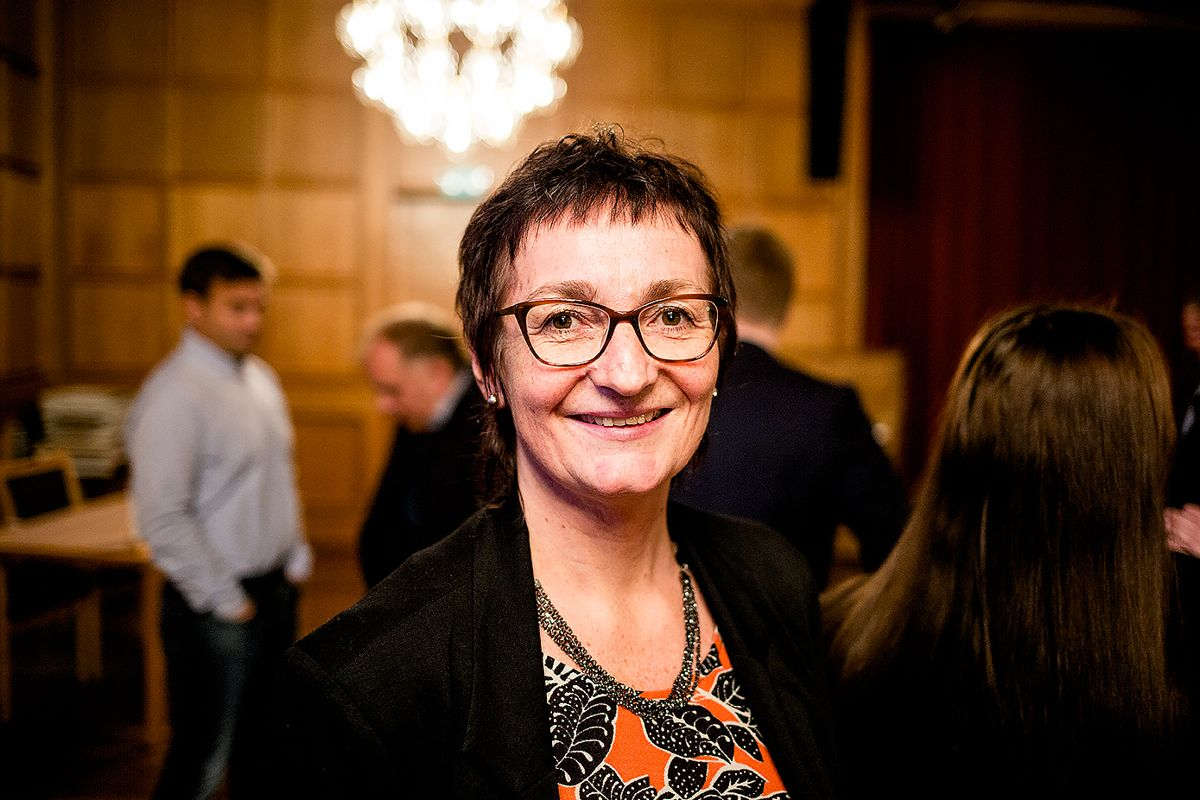 Rådmann Astrid Eidsvik i Ålesund blir også ny rådmann i den sammenslåtte kommunen. Arkivfoto: Magnus Knutsen Bjørke
