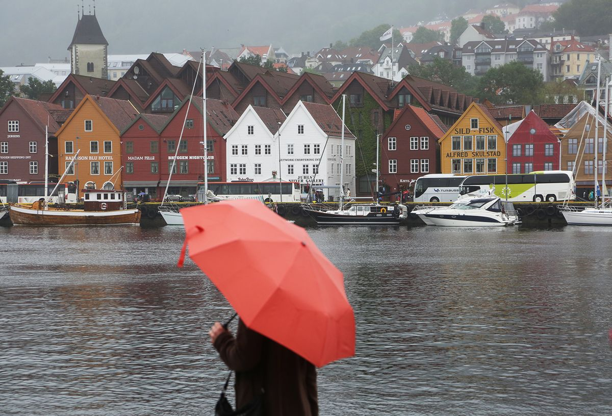 Bryggen i Bergen. Foto: Erik Johansen / NTB scanpix