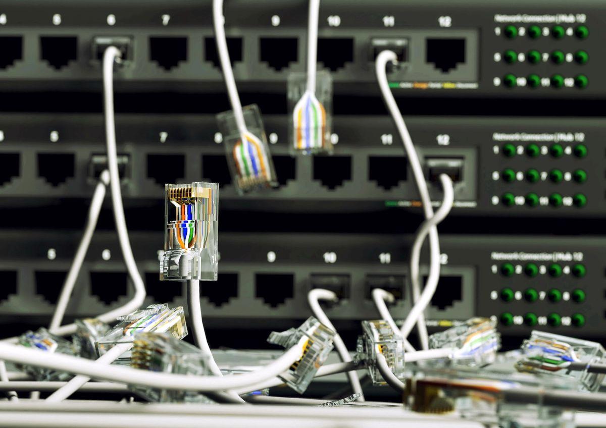 Øste Toten ble lørdag utsatt for dataangrep. Epostsystemet er satt ut av spill.