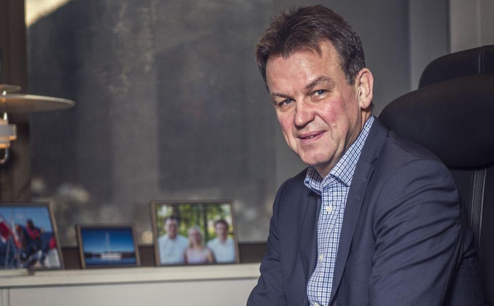 Rune Haugsdal, fylkesrådmann i Hordaland er den eneste kommunale lederen som tjener mer enn statsministeren, ifølge kommunenes lønnsdata. Foto: Morten Wanvik, Hordaland fylkeskommune