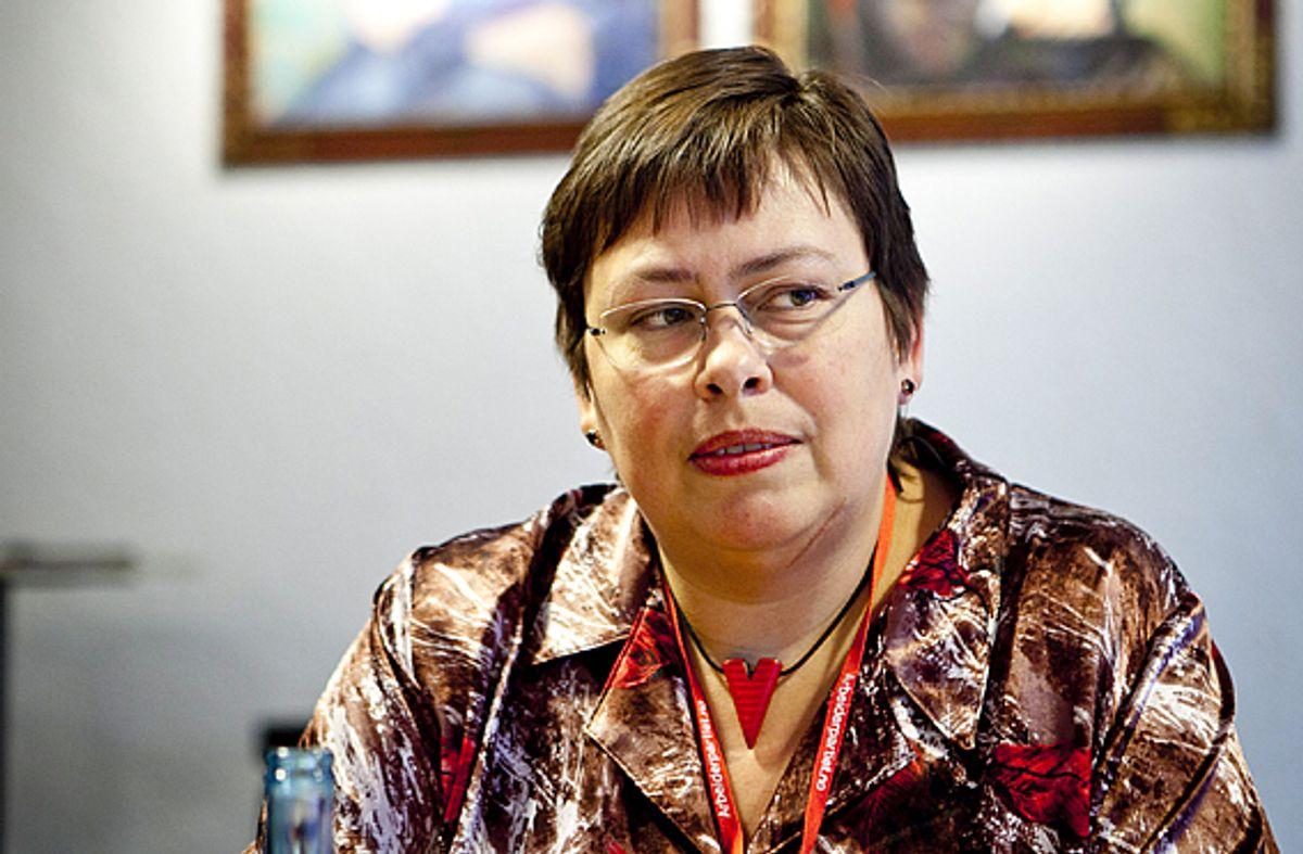 – Kommunen har en retningslinje på å anmelde alle trusler, sier ordfører Rita Ottervik (Ap). Foto: Magnus Knutsen Bjørke