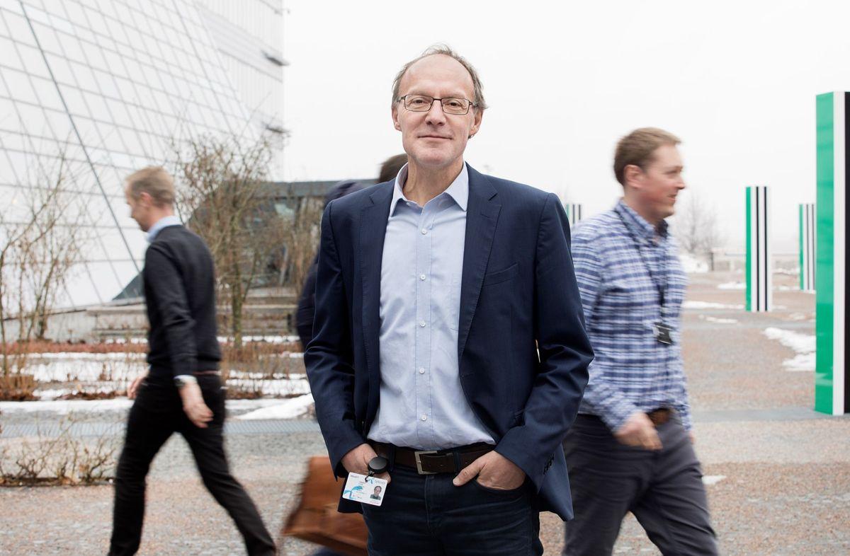 Stein C. Tømmer, ansvarlig for Smart kommune-programmet til Telenor.