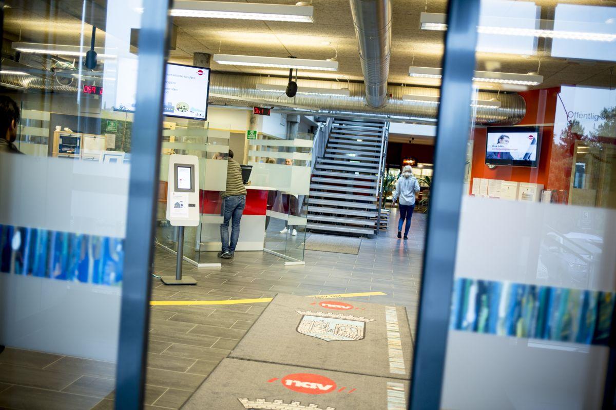 Størrelsen på sosialhjelpen varierer mye mellom kommunene, selv om de fleste har valgt å bruke statens veiledende satser. Bildet viser Nav Lerkendal i Trondheim. Foto: Magnus K. Bjørke