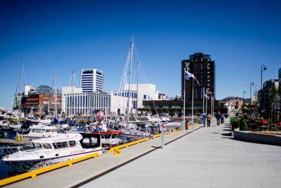 Bodø kommune brøt anskaffelsesreglene da kommunen inngikk en rammeavtale om kjøp av IKT-utstyr og -drift, konkluderer Kofa. Her ved Bodø havn.