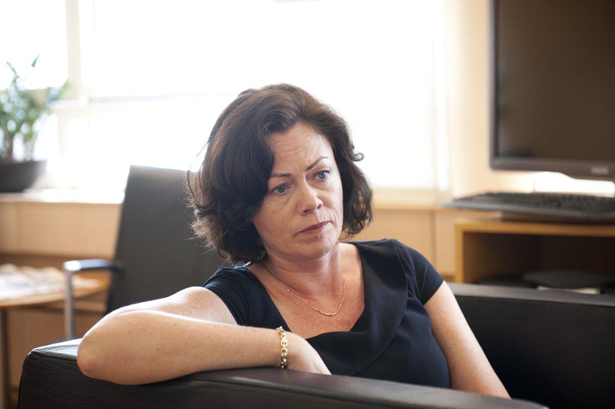 – Vi må stille krav om at flyktninger deltar på norskopplæringen, sier integreringsminister Solveig Horne (Frp) til Vårt Land. Arkivfoto: Terje Lien