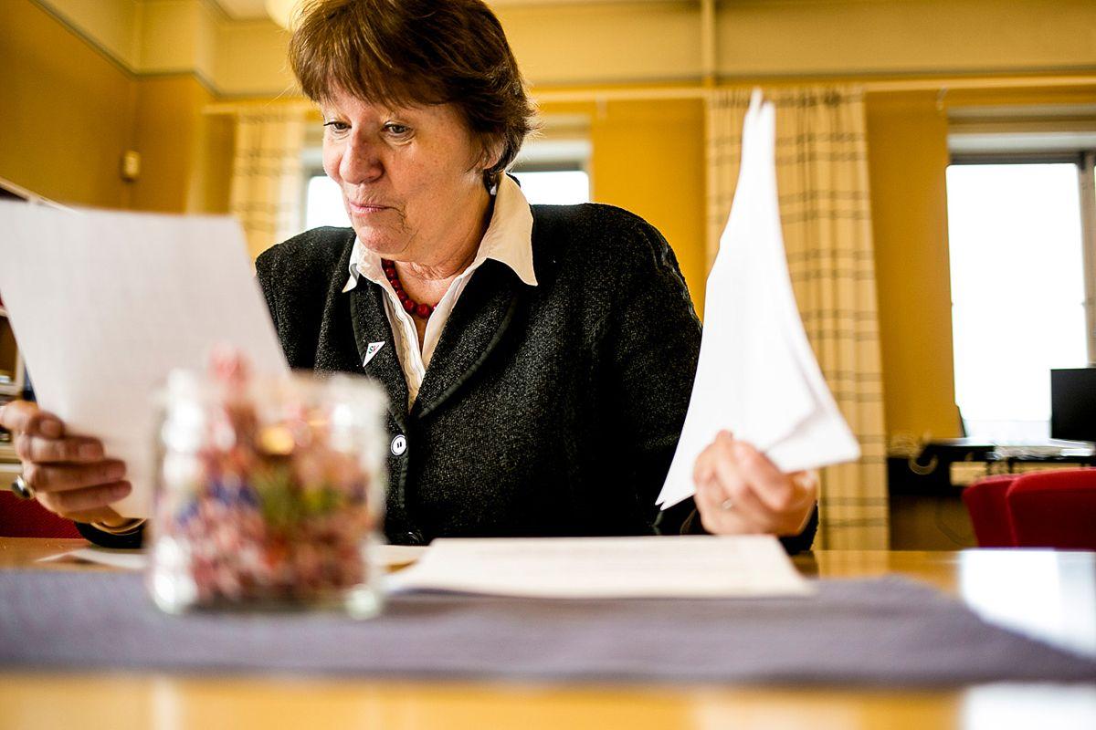 Marianne Borgen (SV) troner på lønnstoppen blant ordførerne, med 1,4 millioner i årlig godtgjørelse.