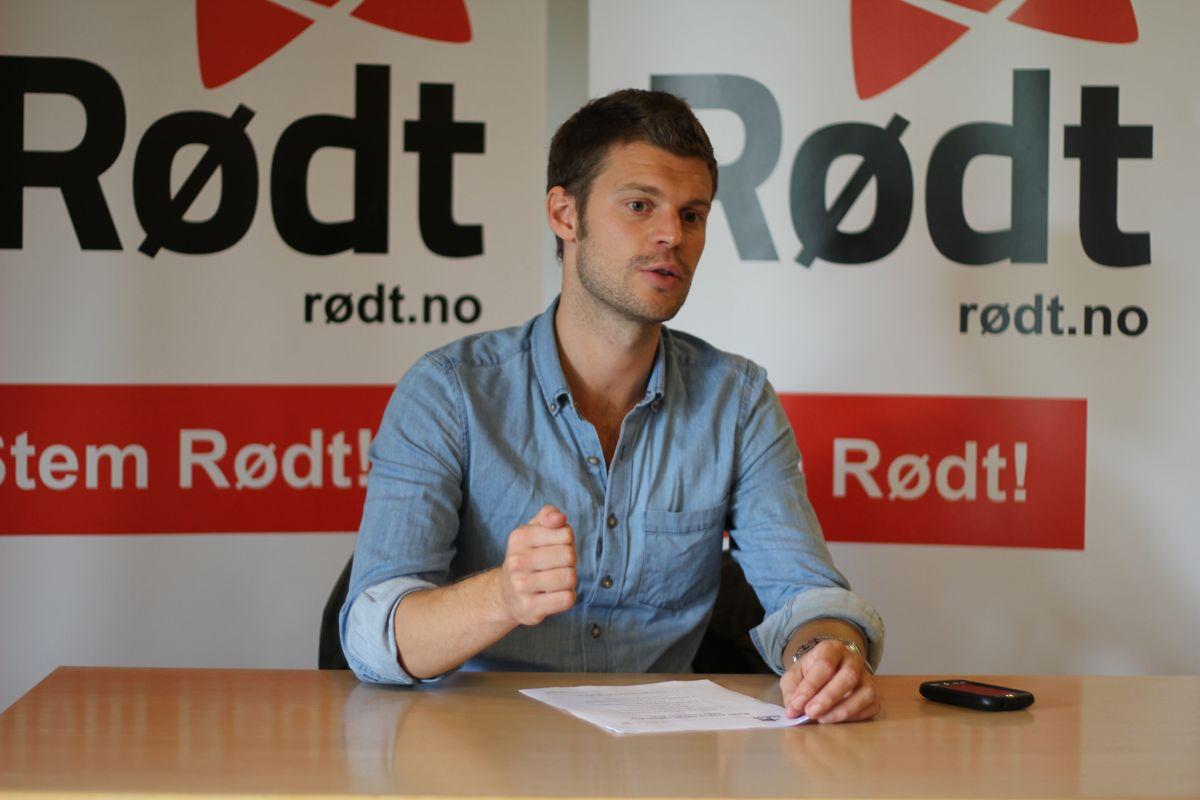 Rødt-leder og bystyrerepresentant Bjørnar Moxnes mener han ikke har gjort noe galt. Foto: Brage Aronsen