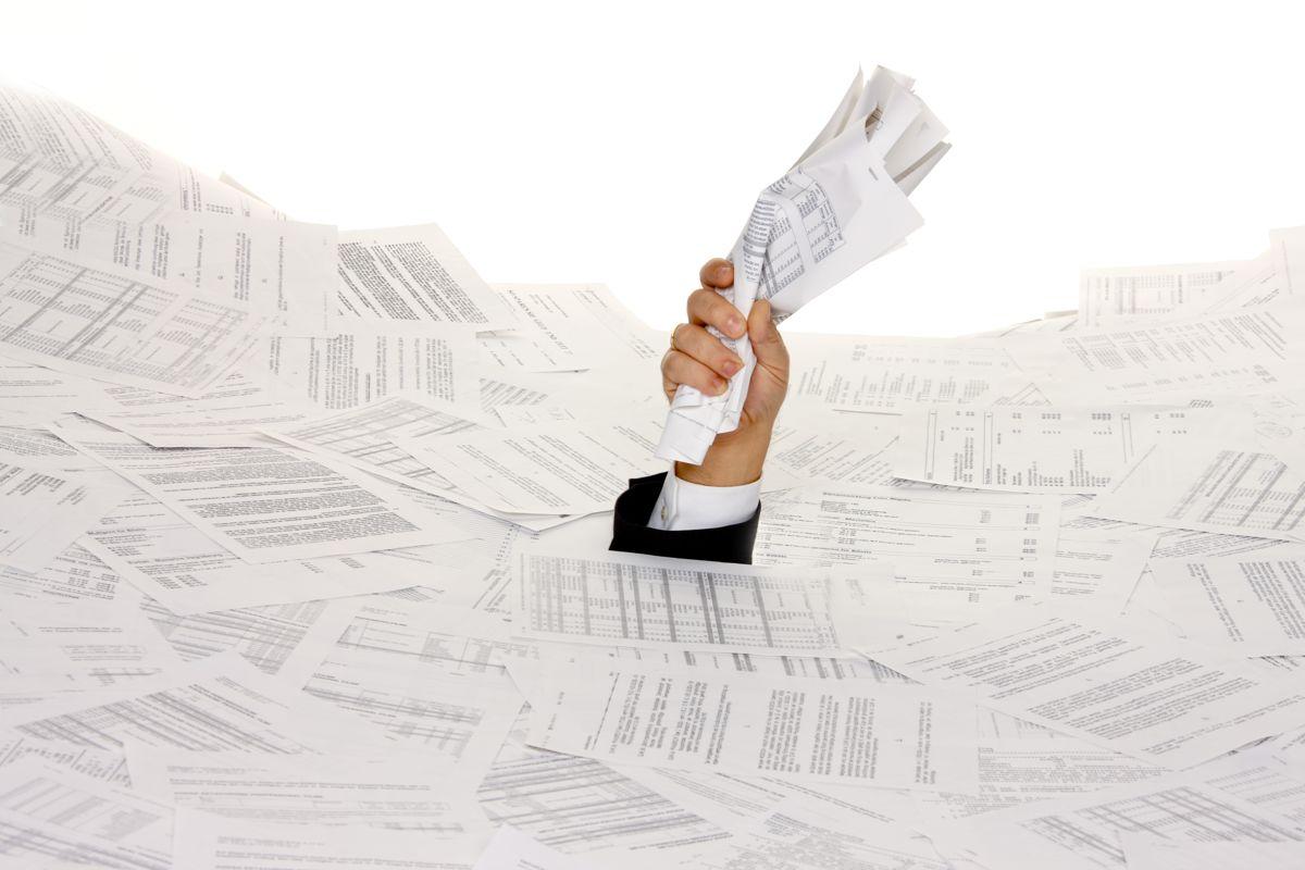 Det statlige byråkratiet må slankes samtidig med en eventuell kommunereform, mener rådmennene. Ill.foto: Colourbox.com