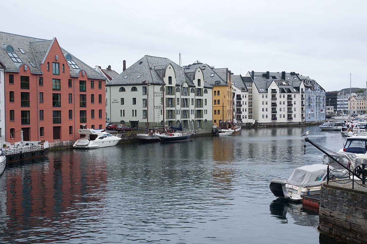 Ålesund. Foto: Terje Lien