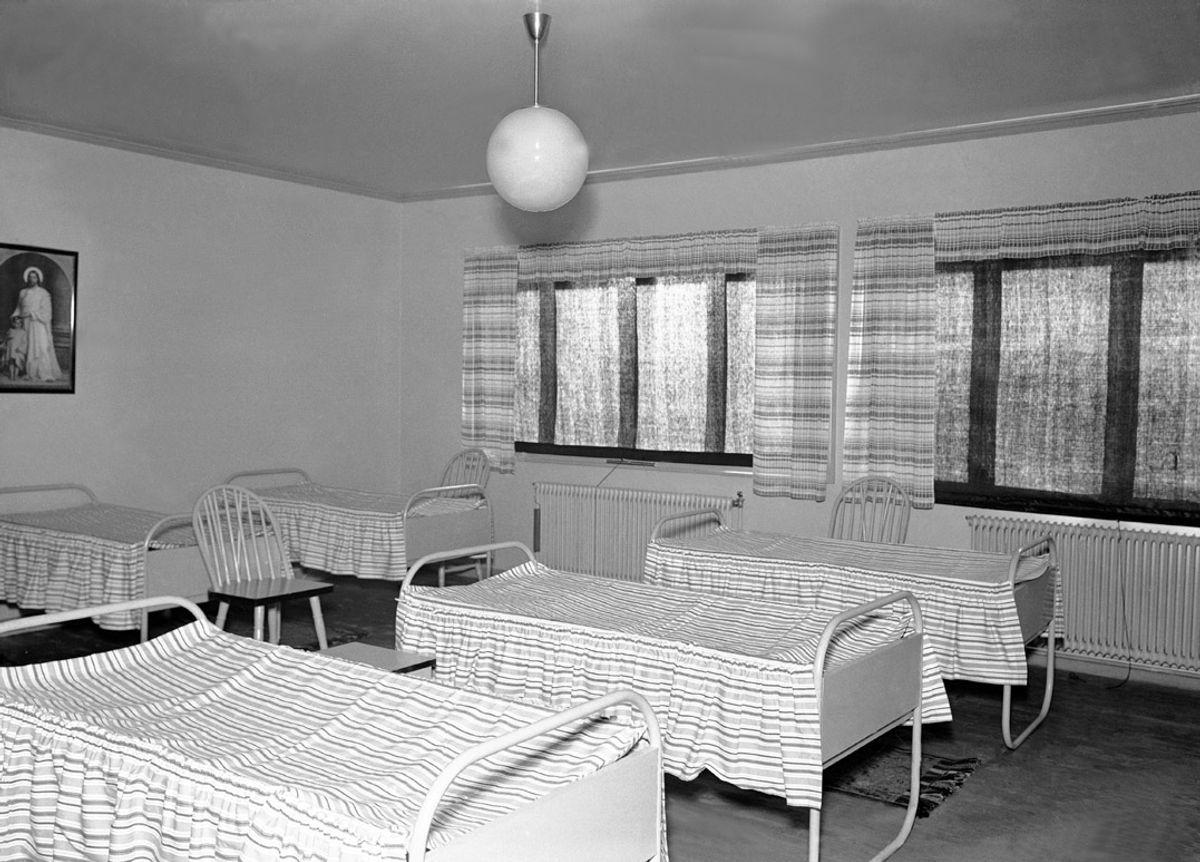 40 tidligere barnehjemsbarn i Nordland har fått erstatning for overgrep, som særlig ble begått på 1950- og 60-tallet. Bildet er fra et barnehjem i Moss. Foto: NTB scanpix