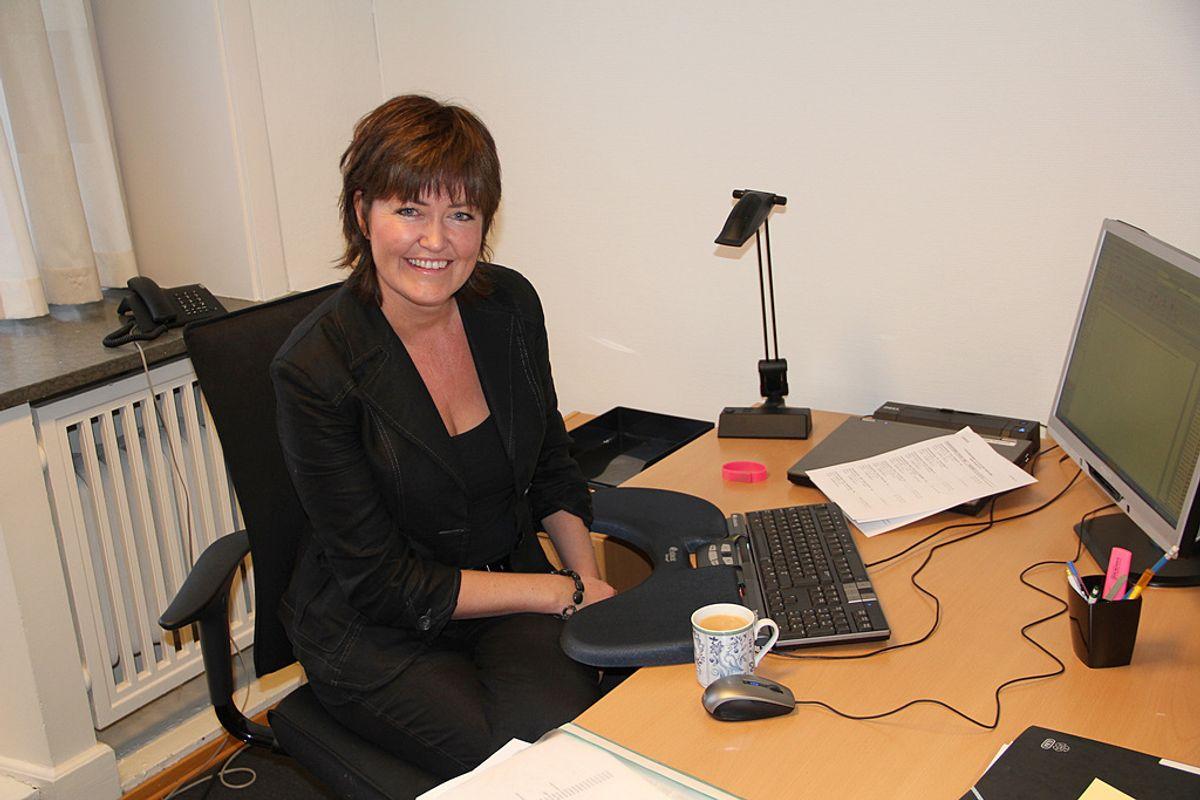 – Vi er åpne for å vurdere forbedringer, sier statssekretær Elisabeth Dahle (SV). Foto: Kunnskapsdepartementet