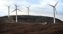 Vindkraftbransjens egne organisasjoner, Norwea og Energi Norge, foreslår nå at kommunene skal få en del av inntektsskatten fra vindkraften som staten ellers ville fått. Foto: Joakim S. Enger