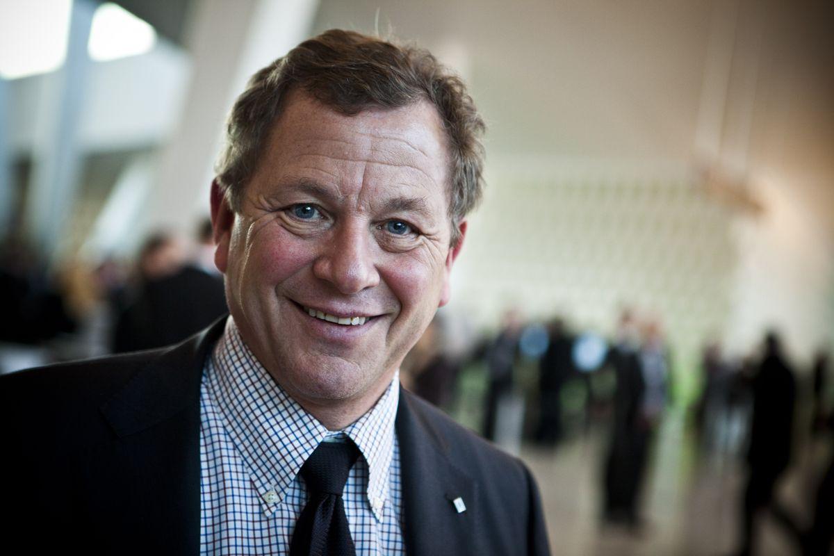 John G. Bernander mener store kommuner med store fagmiljøer er bra for næringslivet. Foto: Magnus Bjørke Knutsen