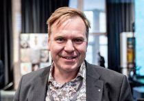 Alfred Bjørlo taler Vestlandets og Distrikts-Norges sak med stort engasjement. Arkivfoto: Magnus Knutsen Bjørke