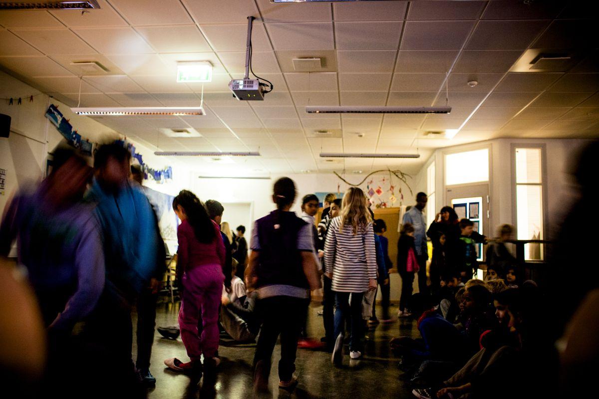 Skolesjefen i Bærum sier det ofte er de yngste barna som er voldelige eller truer de ansatte ved skolene i Bærum. Illustrasjonsfoto: Magnus Knutsen Bjørke