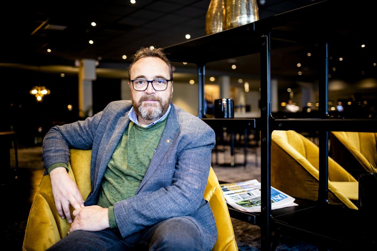 Rådmann Ole Magnus Stensrud i Skien vil foreslå for ordføreren at de fortsetter å ha jevnlige samordningsmøter. Foto: Magnus K. Bjørke