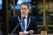 Steinkjer-ordfører Bjørn Arild Gram (Sp) blir etter all sannsynlighet valgt til ny KS-leder under landstinget onsdag. Foto: Ole Martin Wold, NTB scanpix