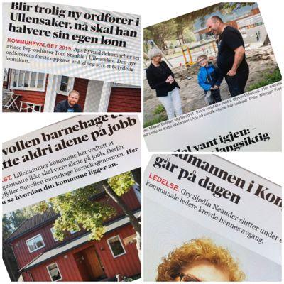 Kommunebarometer, kommunevalg og arbeidsliv dominerte nyhetsbildet i 2019.