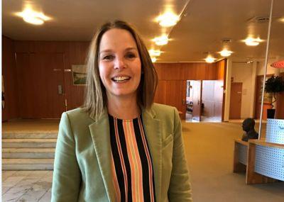 Kommunedirektør Trude Andresen er opptatt av innovasjon i alle ledd av kommuneorganisasjonen.