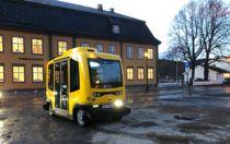 Applied Autonomy jobber nå for at Vegdirektoratet skal godkjenne at den selvkjørende bussen skal få kjøre en delstrekning av en bussrute uten sjåfør om bord. Foto: Terje Lien