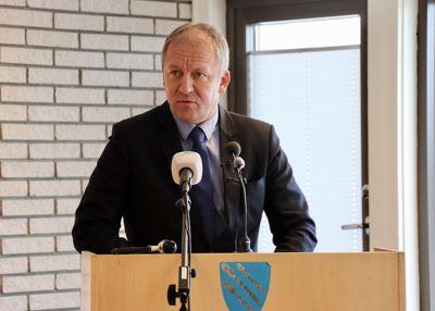 Geir Inge Sivertsen (H), her da han var ordfører i Lenvik, fikk dobbel godtgjørelse i november og desember i fjor, ifølge Dagbladet. Arkivfoto: Ole Petter Pedersen