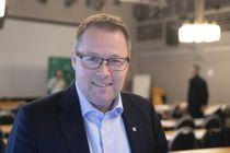 42 prosent av landets ordførere som har svart på en meningsmålig, mener at Bjørn Arild Gram (Sp) bør bli ny styreleder i KS. Foto: Magnus Knutsen Bjørke