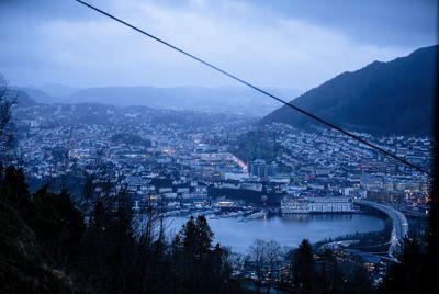 Netto driftsresultat i Bergen i fjor ble på 3,6 prosent, ifølge de foreløpige regnskapstallene. Foto: Magnus K. Bjørke