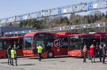 Ruter har allerede en rekke elektriske busser. Nå blir det enda flere. Arkivfoto: Ole Berg-Rusten, NTB scanpix