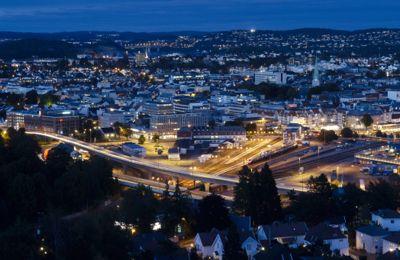 Kristiansand kommune leverer et netto driftsresultat som er under anbefalingen til Teknisk beregningsutvalg (TBU). Foto: Kai Wilhelm Nessler, Samfoto