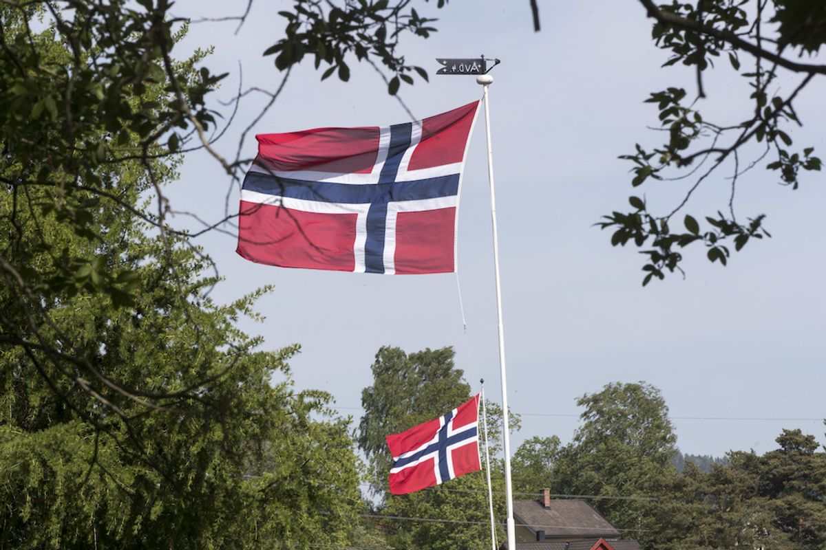 Flagging blir det sikkert på 17. mai. Men barnetoget er avlyst i Porsgrunn.