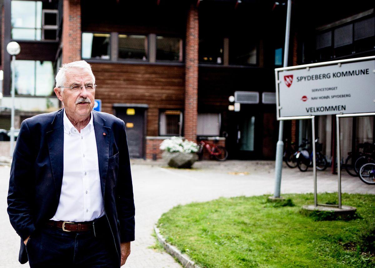 Å ta vare på lokaldemokratiet i hele den nye kommunen blir den største utfordringen, mener ordfører Petter Schou (H) i Spydeberg, som slår seg sammen fire andre kommuner i Indre Østfold. Arkivfoto: Magnus K. Bjørke