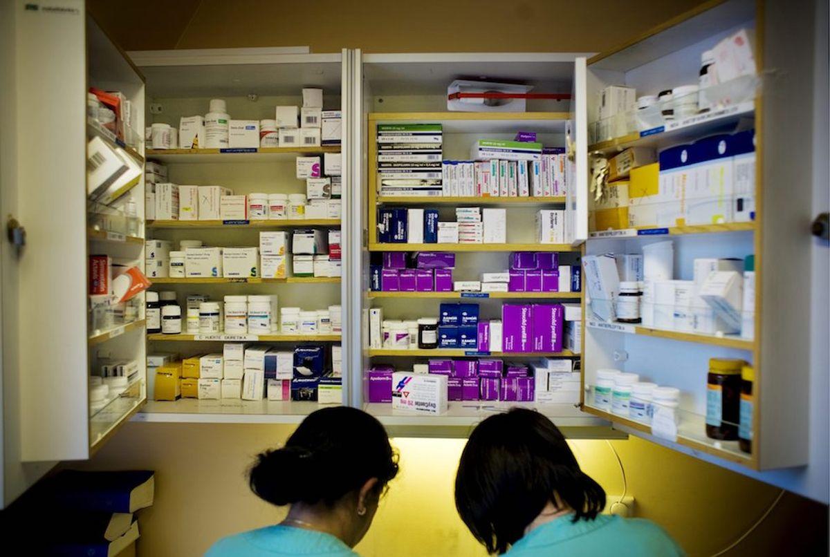 Riktig legemiddelbruk er ett av de utvalgte innsatsområdene i programmet for å bedre pasientsikkerheten. Illustrasjonsfoto: Fredrik Bjerknes, Samfoto/NTB scanpix