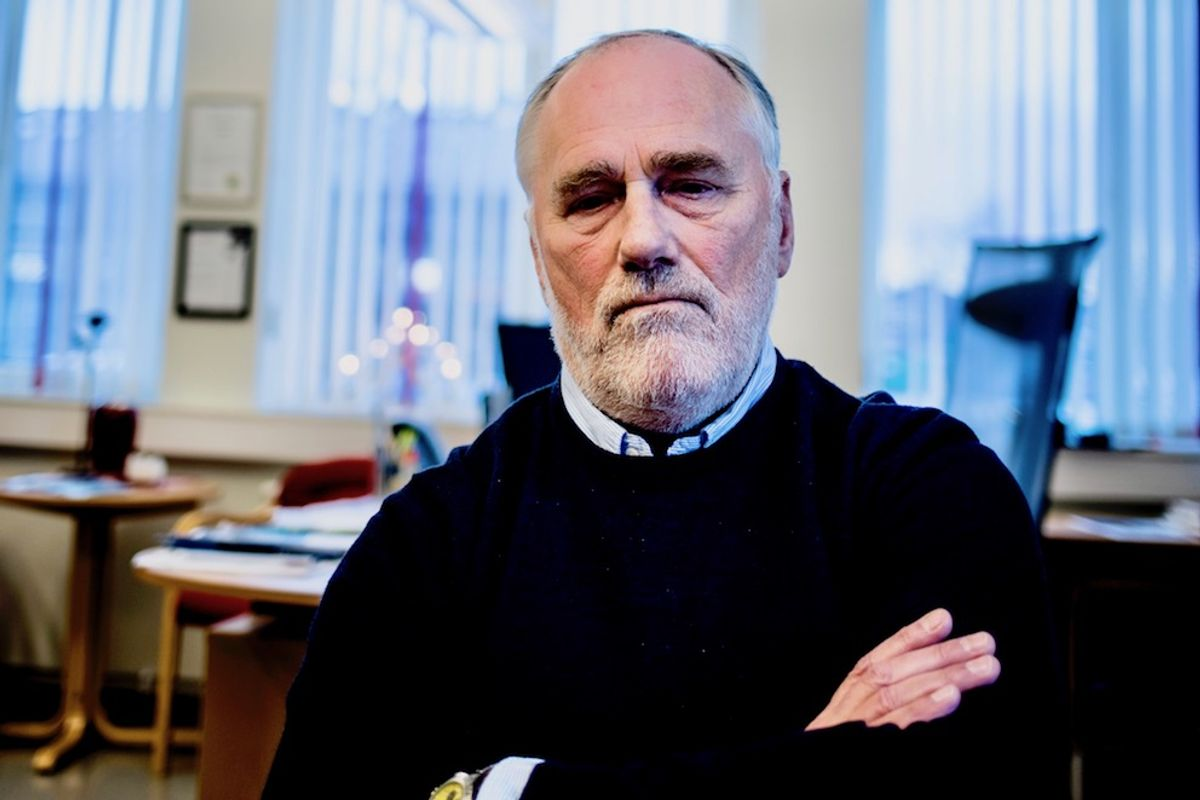 Ole Haugen (Ap) i Hitra er blant ordførerne som har opplevd trusler og trakassering. Foto: Magnus K. Bjørke