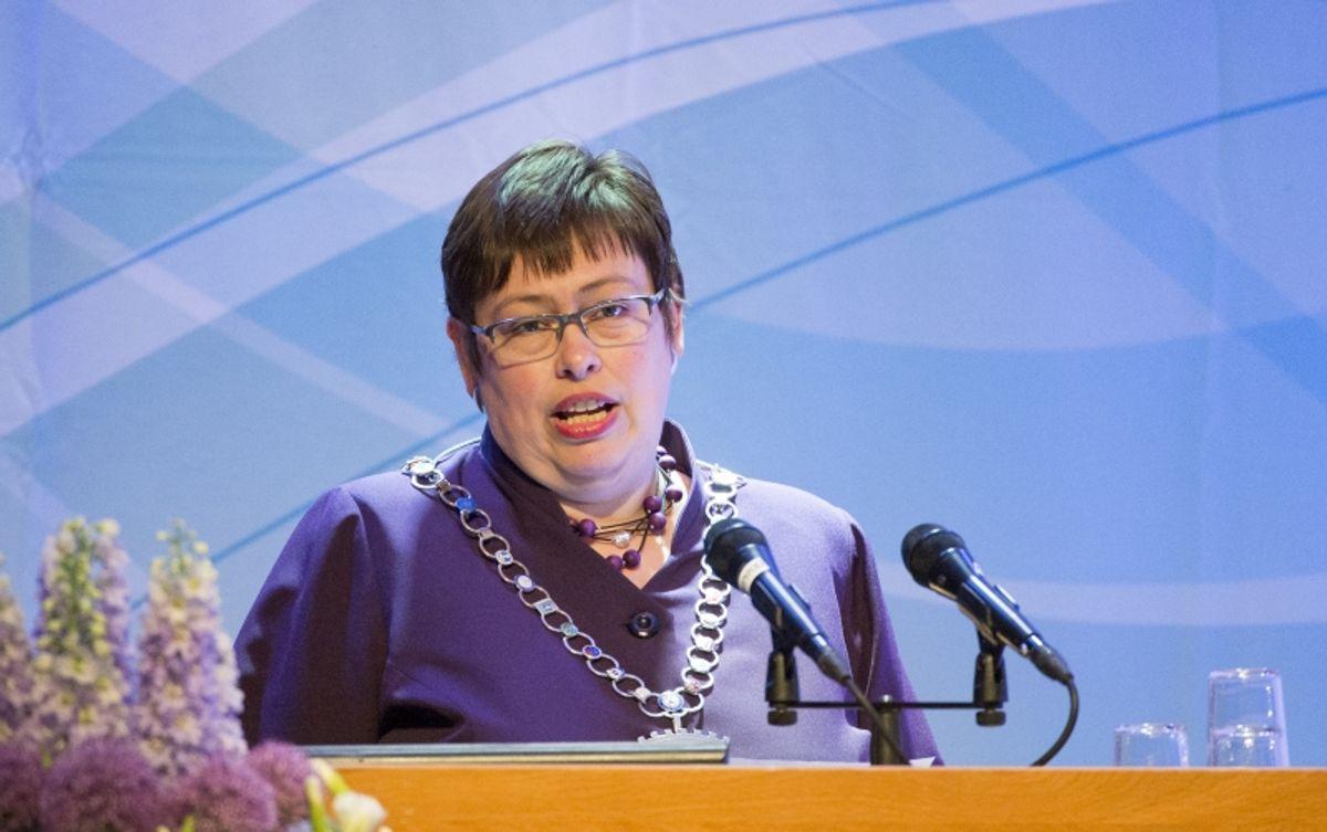 Trondheim-ordfører Rita Ottervik (Ap) og flertallet i bystyret har vedtatt å innføre et lobbyregister. Arkivfoto: Ned Alley, NTB scanpix