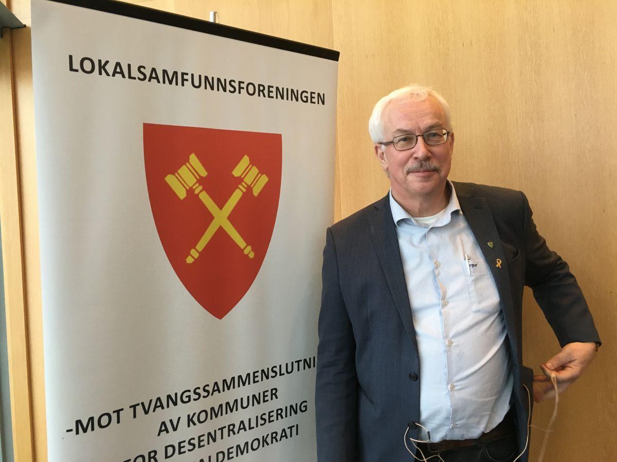 Leder Ole Gustav Narud i Lokalsamfunnsforeningen deltar i ukas utgave av podkasten Kontrollutvalget.