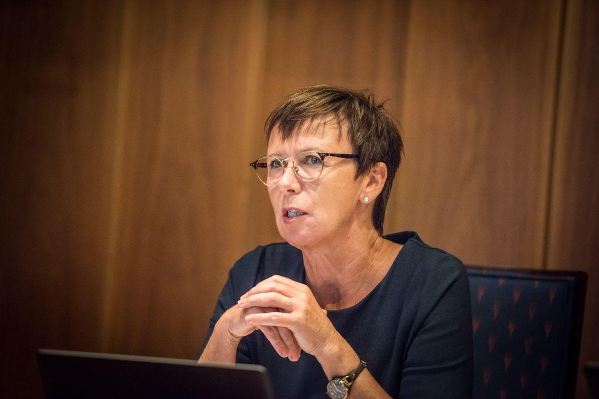 Kommunestyret i Grimstad vedtok i midten av september å avslutte arbeidsforholdet med kommunedirektør Tone Marie Nybø Solheim.