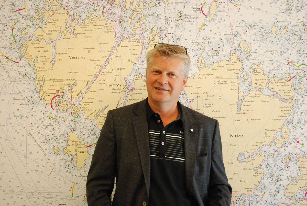 Dag Willien Eriksen søker ny topplederstilling. Her fotografert mens han ennå var rådmann i Hvaler kommune.