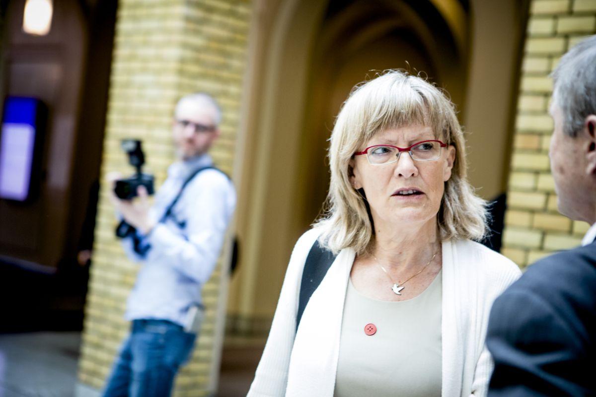 Sosialistisk Venstrepartis Karin Andersen er glad for utviklingen.