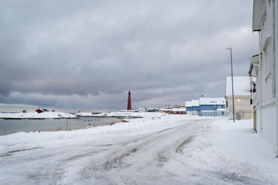 Andenes fyr er et landemerke i Andøy kommune. Kanskje er det bilder som dette som trekker flere utenlandske søkere til topplederstillingen i Andøy?
