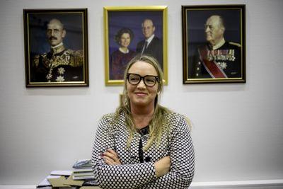 Her er Kirsti Tømmervold fotografert mens hun ennå var ordfører i Klæbu. Etter 14 måneder som kommunedirektør i Vevelstad, sa hun opp.