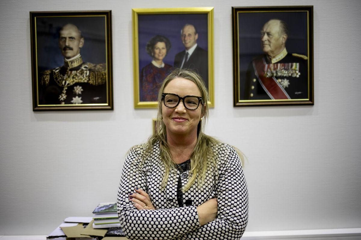Kirsti Tømmervold, tidligere lokalpolitiker og ordfører i Klæbu, gir seg etter 14 måneder som kommunedirektør i nordlandskommunen Vevelstad. Bildet er tatt da hun var ordfører.