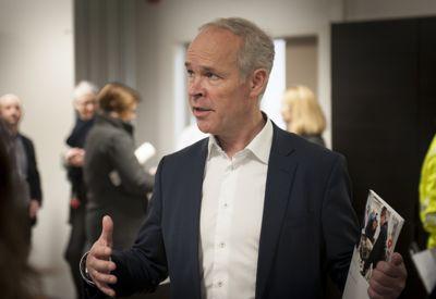 Finansminister Jan Tore Sanner (H) er klar med regjeringens perspektivmelding. Her er han fotografert ved en tidligere anledning, under fremleggingen av regjeringens integreringsstrategi.