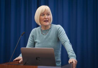 Presentasjon av ny IA-avtale 18.12.2018, Unio-leder Ragnhild Lied