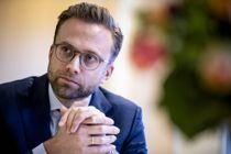 Oslo.Nikolai Astrup.Kommunal- og moderniseringsminister.Foto: Magnus Knutsen Bjørke