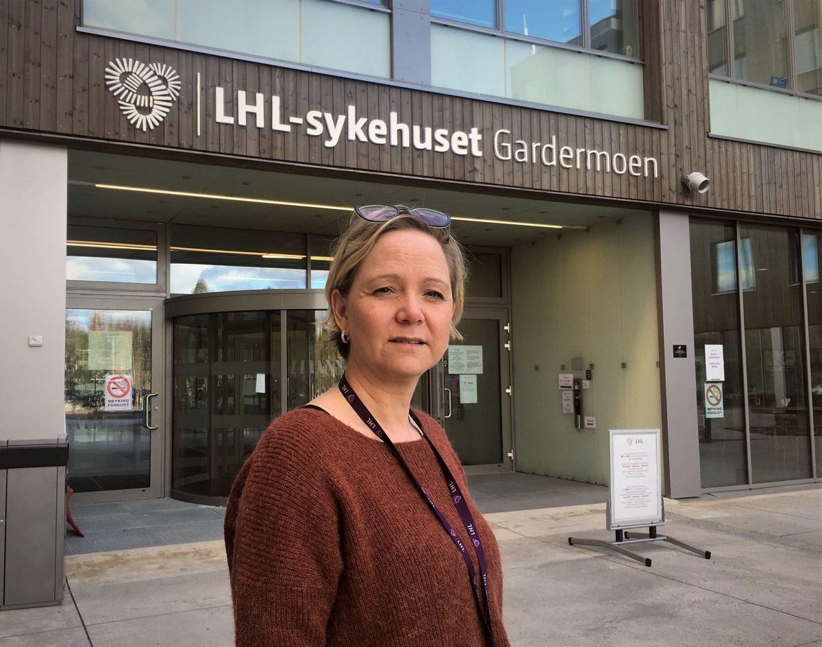 Administrerende direktør Jane Castro i LHL Gardermoen er klar for å ta i mot enda flere koronapasienter.