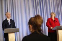 <p>Statsminister Erna Solberg (H) og finansminister Jan Tore Sanner (H) legger fram regjeringens fjerde økonomiske krisepakke mot virkningene av koronakrisen i dag.</p>