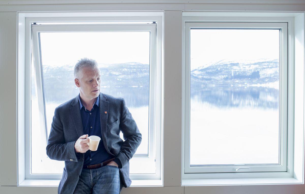 Ordfører Knut Harald Frøland(Bygdalista) i Samnanger er en av 14 som har søkt på stillingen som kommunens nye kommunedirektør.