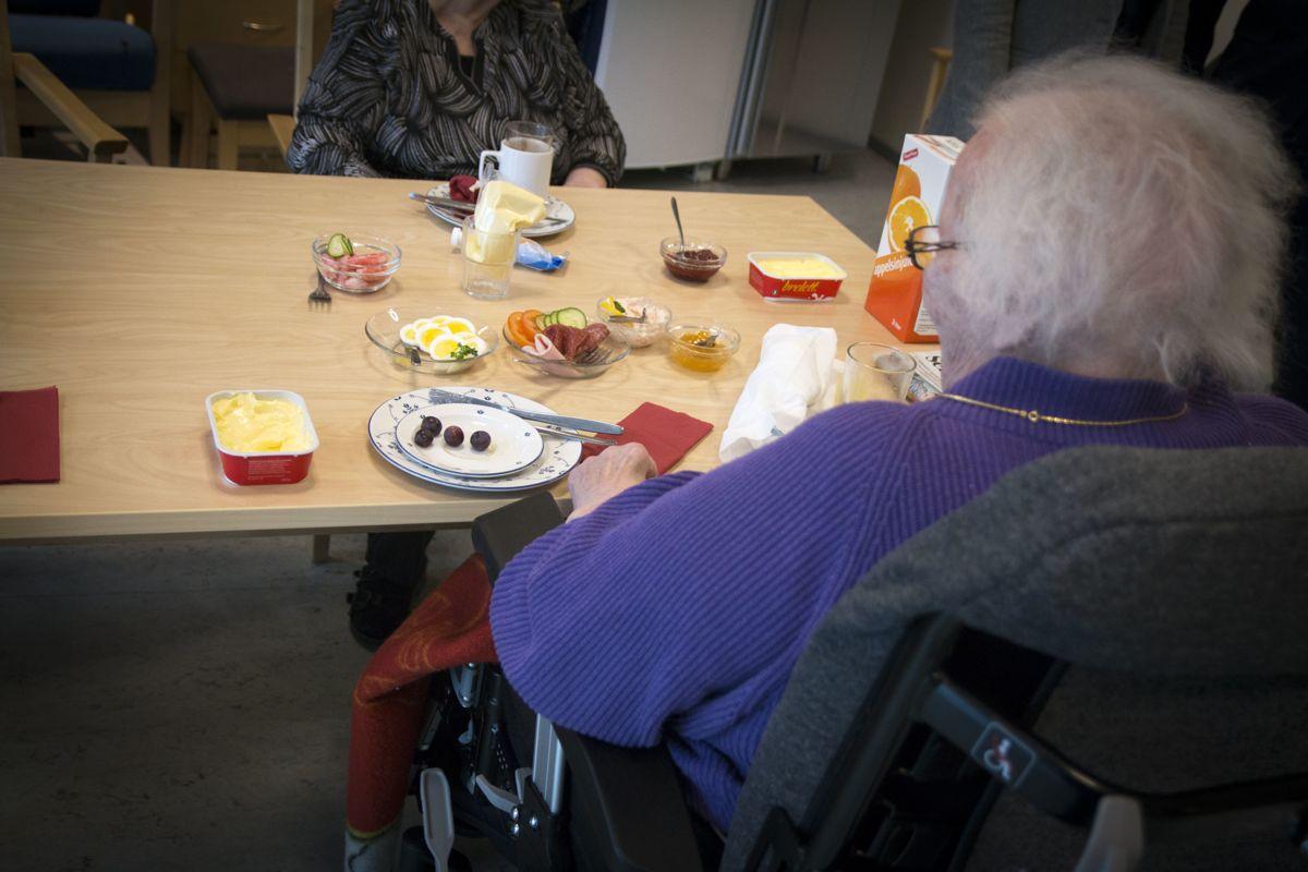 Mat og måltider er blant de fem innsatsområdene i «Leve hele livet»-reformen.