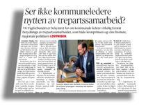 <p>Kommunedirektør Trude Andresen i Øvre Eiker kommenterer innlegget til Unni Bjerregaard Moe i Fagforbundet.</p>