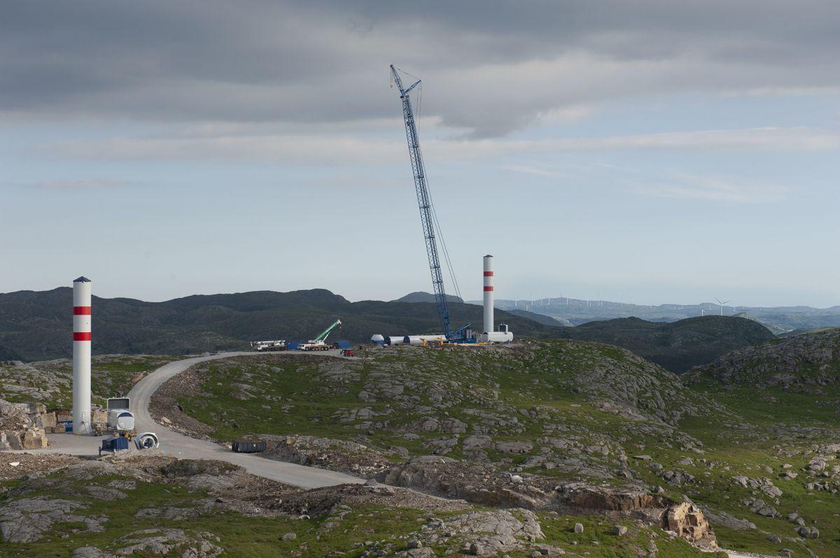 Blir fristelsen til å ofre naturverdier til fordel for utbygging for stor, når kommunene skal få økte skatteinntekter fra vindkraft? spør Lars H. Gulbrandsen.